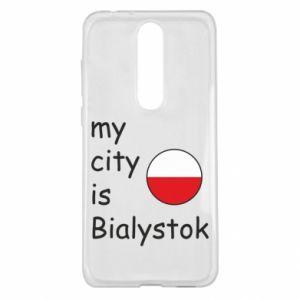 Nokia 5.1 Plus Case My city is Bialystok