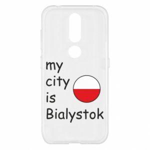 Nokia 4.2 Case My city is Bialystok