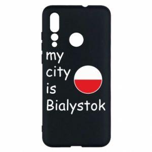 Huawei Nova 4 Case My city is Bialystok