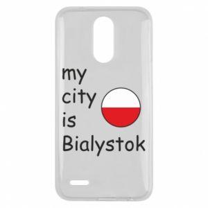 Lg K10 2017 Case My city is Bialystok