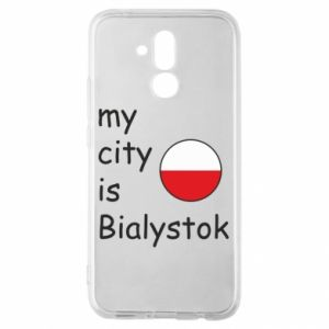 Huawei Mate 20Lite Case My city is Bialystok