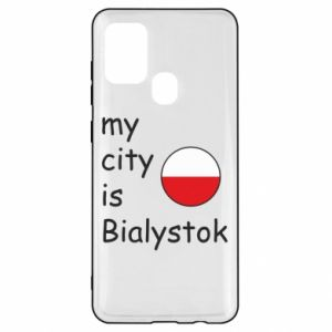 Samsung A21s Case My city is Bialystok