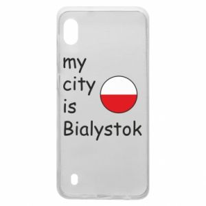 Samsung A10 Case My city is Bialystok