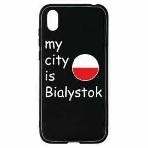 Huawei Y5 2019 Case My city is Bialystok
