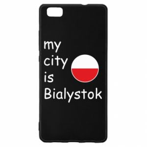 Huawei P8 Lite Case My city is Bialystok