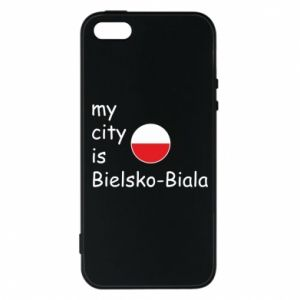 iPhone 5/5S/SE Case My city is Bielsko-Biala