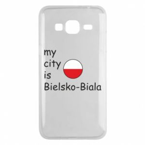 Samsung J3 2016 Case My city is Bielsko-Biala