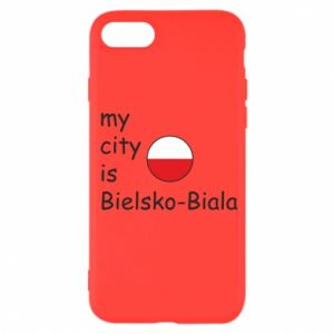 iPhone SE 2020 Case My city is Bielsko-Biala