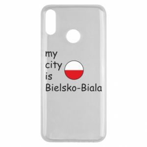 Huawei Y9 2019 Case My city is Bielsko-Biala