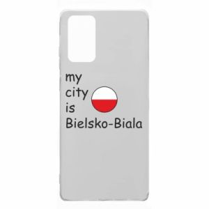 Samsung Note 20 Case My city is Bielsko-Biala