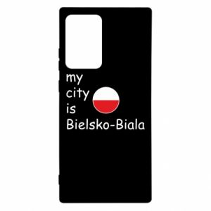Samsung Note 20 Ultra Case My city is Bielsko-Biala