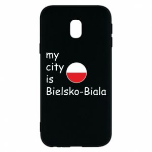 Samsung J3 2017 Case My city is Bielsko-Biala