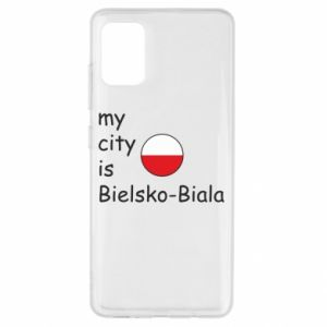 Samsung A51 Case My city is Bielsko-Biala