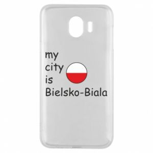 Samsung J4 Case My city is Bielsko-Biala