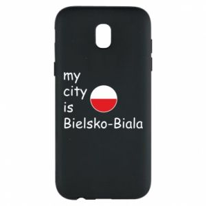 Samsung J5 2017 Case My city is Bielsko-Biala