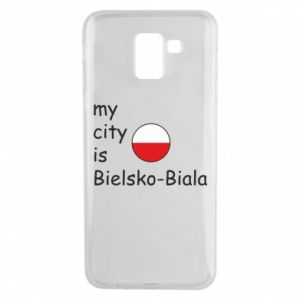 Samsung J6 Case My city is Bielsko-Biala