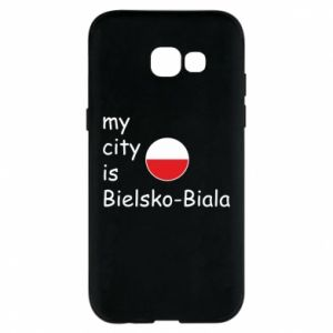Samsung A5 2017 Case My city is Bielsko-Biala