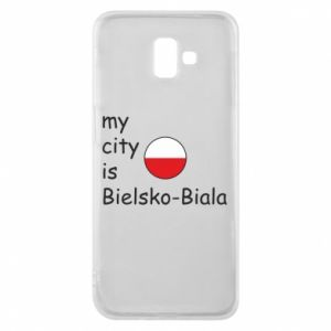 Samsung J6 Plus 2018 Case My city is Bielsko-Biala