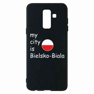 Samsung A6+ 2018 Case My city is Bielsko-Biala