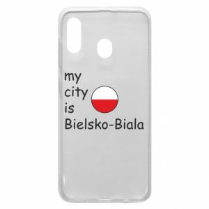 Samsung A20 Case My city is Bielsko-Biala
