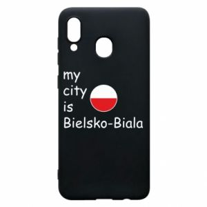 Samsung A30 Case My city is Bielsko-Biala