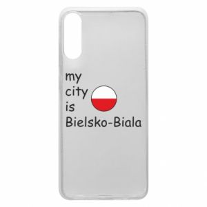 Samsung A70 Case My city is Bielsko-Biala