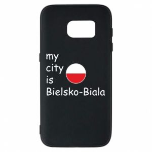 Samsung S7 Case My city is Bielsko-Biala