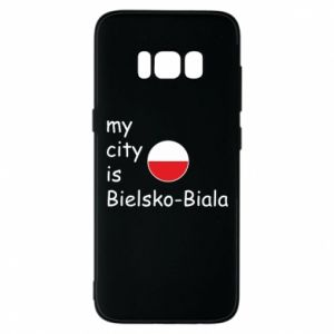 Samsung S8 Case My city is Bielsko-Biala