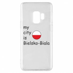 Samsung S9 Case My city is Bielsko-Biala