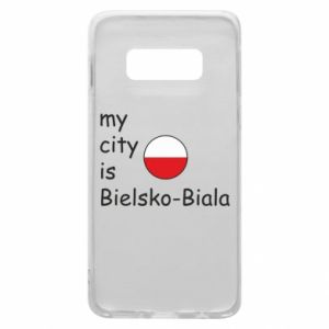 Samsung S10e Case My city is Bielsko-Biala