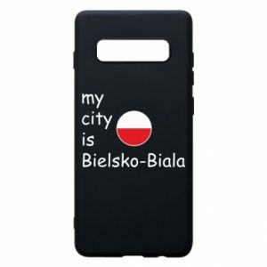 Samsung S10+ Case My city is Bielsko-Biala
