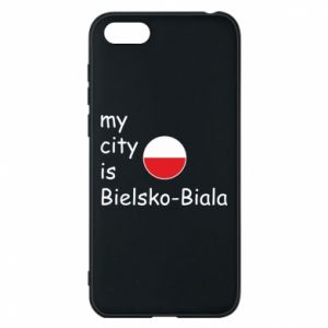 Huawei Y5 2018 Case My city is Bielsko-Biala