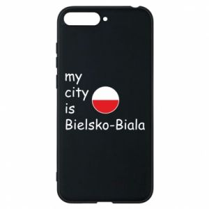 Huawei Y6 2018 Case My city is Bielsko-Biala