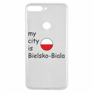 Huawei Y7 Prime 2018 Case My city is Bielsko-Biala
