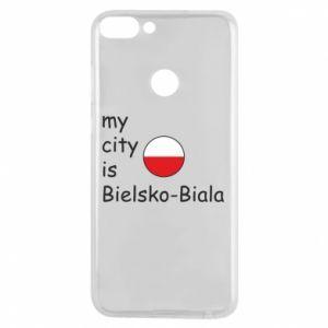 Etui na Huawei P Smart My city is Bielsko-Biala - PrintSalon