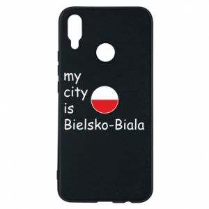 Huawei P Smart Plus Case My city is Bielsko-Biala