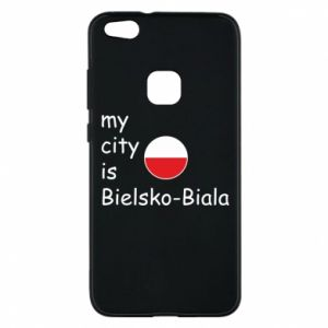 Huawei P10 Lite Case My city is Bielsko-Biala