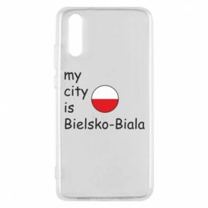 Huawei P20 Case My city is Bielsko-Biala