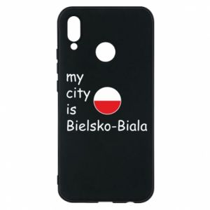 Huawei P20 Lite Case My city is Bielsko-Biala