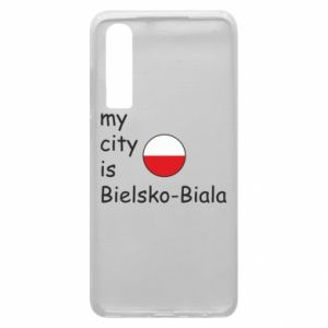 Huawei P30 Case My city is Bielsko-Biala