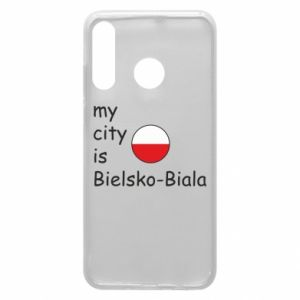 Huawei P30 Lite Case My city is Bielsko-Biala