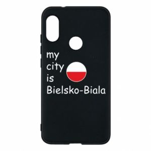 Mi A2 Lite Case My city is Bielsko-Biala