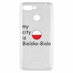 Xiaomi Redmi 6 Case My city is Bielsko-Biala