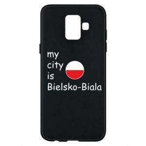 Samsung A6 2018 Case My city is Bielsko-Biala