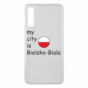 Samsung A7 2018 Case My city is Bielsko-Biala