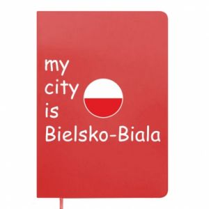 Notepad My city is Bielsko-Biala