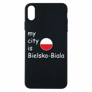 iPhone Xs Max Case My city is Bielsko-Biala
