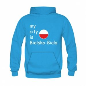 Kid's hoodie My city is Bielsko-Biala