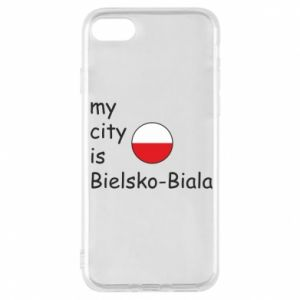 iPhone 8 Case My city is Bielsko-Biala