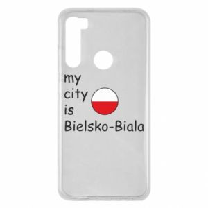 Xiaomi Redmi Note 8 Case My city is Bielsko-Biala